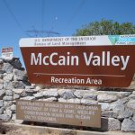 McCain Valley Sign